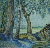 Tarn Hows Wood Watercolour (Sold)